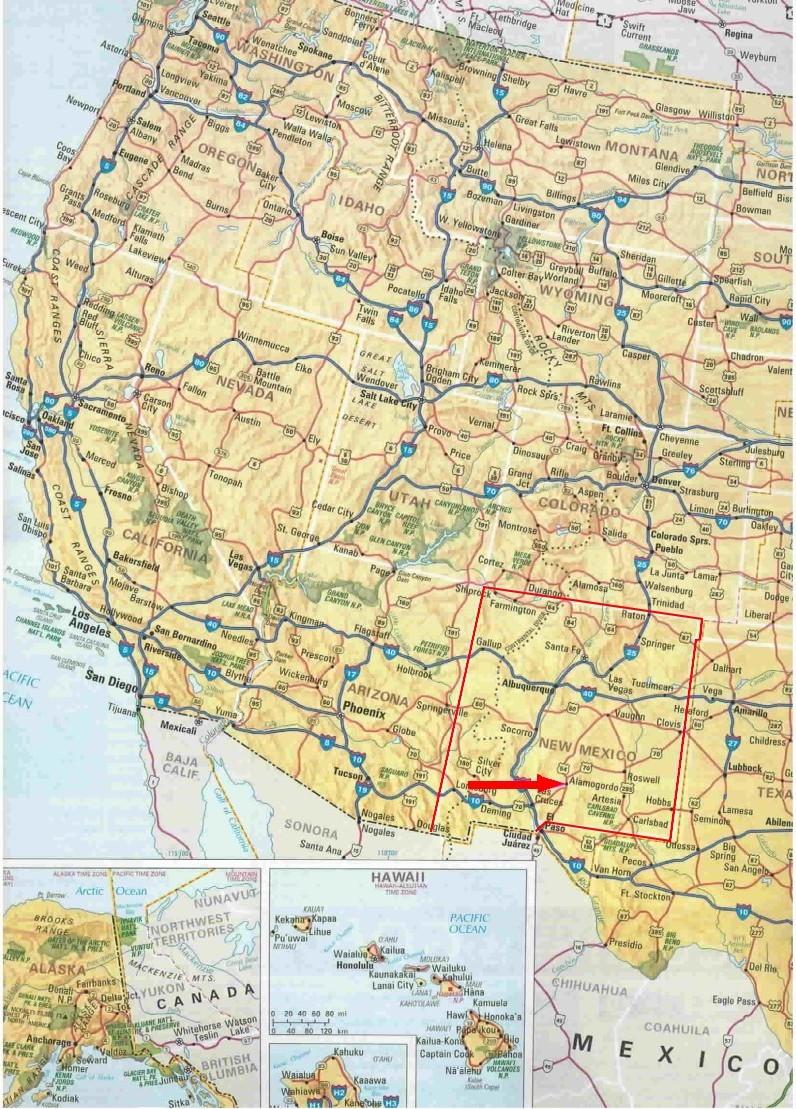 Karte Von Florida Westkuste.Karten Und Stadtplane Usa